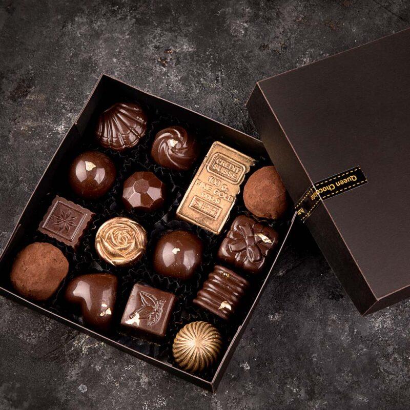 باکس مقوایی شکلات